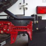 Front Runner Wagenheber Halterung für die Heckstoßstange – Land Rover Defender (1983-2016)