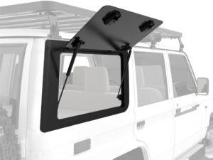 Front Runner Aluminium Gullwing Fenster (rechte Seite) für den Toyota Land Cruiser 70