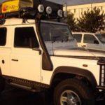 Land Rover Defender 90  (1983-2016) Schwellerschutz / schwarz – von  Front Runner