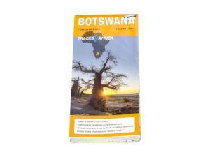 T4A Botswana Landkarte  – T4A