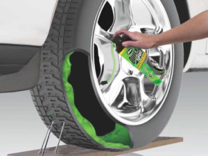 Quick Spare Tire Repair Canister