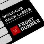 Wolf Pack und Cub Box Organisation-Labels – von Front Runner