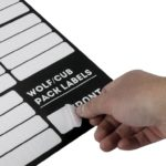 Wolf Pack und Cub Box Organisation-Labels – von Front Runner