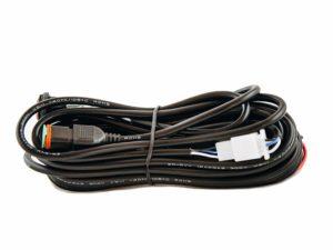 Einzelner LED-Kabelbaum mit DT Stecker