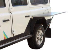 Edelstahltisch für die Seitenmontage am Fahrzeug – von Front Runner