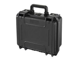 Wasserdichter Koffer mit Würfelschaum / Schwarz / Klein – von Kanan Outdoor